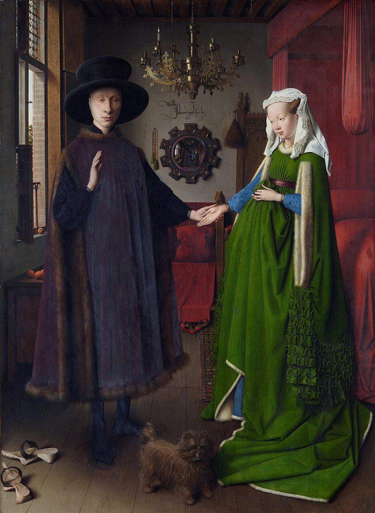 Cuadro de un matrimonio antiguo