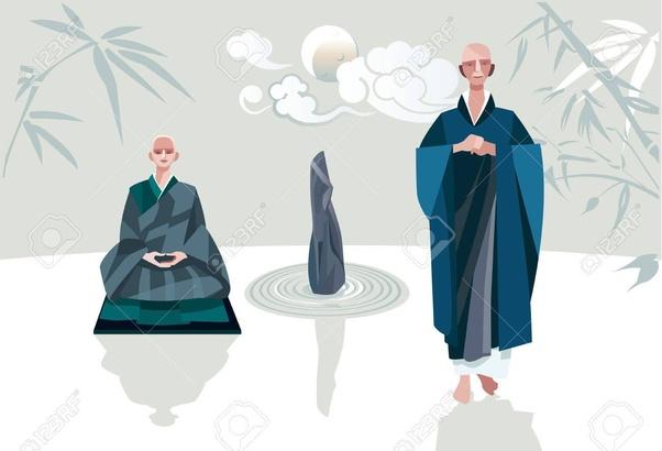 Dos monjes Zen