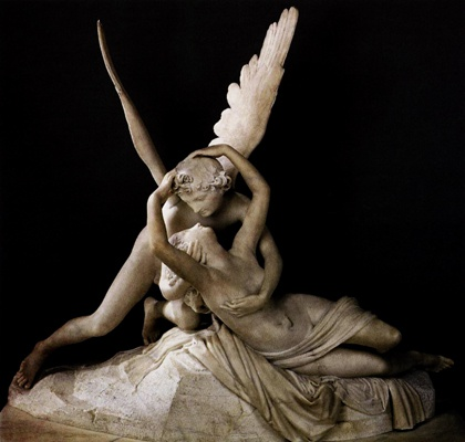 Estatua de el rapto de psique